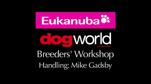 Breeders Workshop - Handling