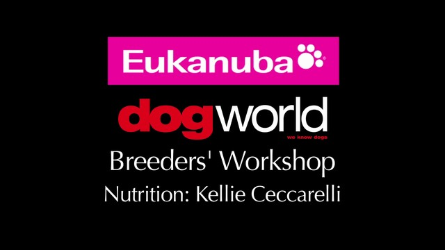 Breeders Workshop - Nutrition